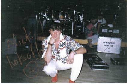 Drummer Austin Lane of Seven