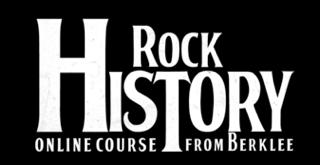Berklee's Rock History Logo