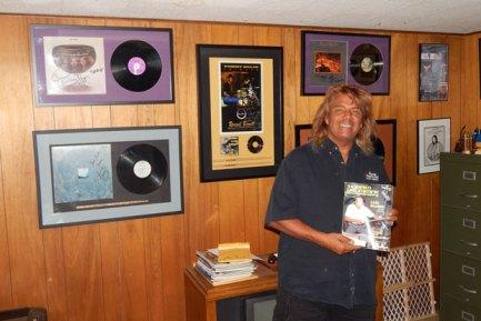 Drummer Johnnie Bolin of Black Oak Arkansas