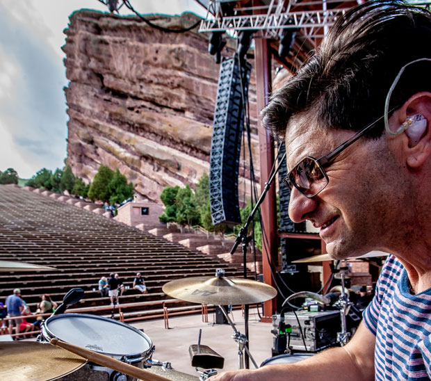 Drummer Brian Nevin of Big Head Todd and the Monsters By Jim Mimna