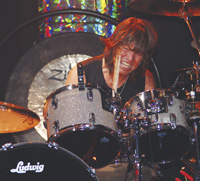 Drummer Bryan Hitt of REO Speedwagon