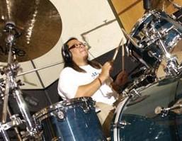 Drummer Curt Bisquera