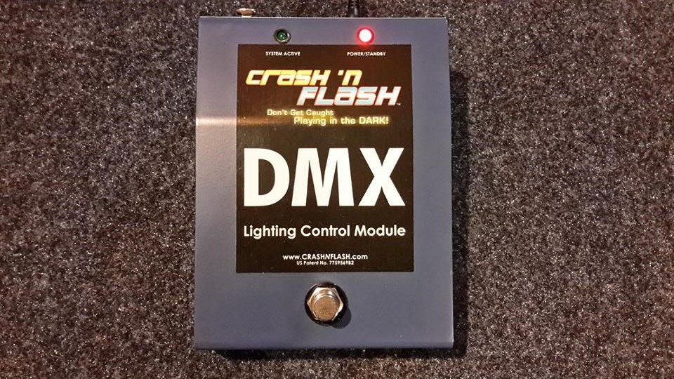 Crash 'N Flash Introduces DMX Concert Pro Stage Lighting