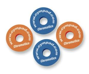 Cympad Chromatics Colored Cymbal Washers