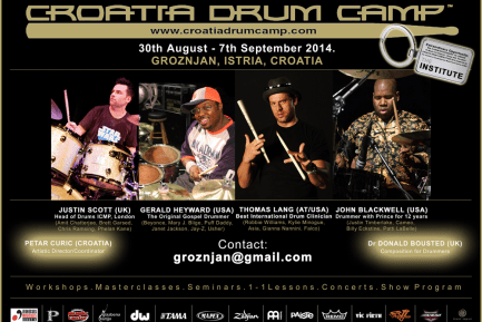 2014 Croatia International Drum Camp