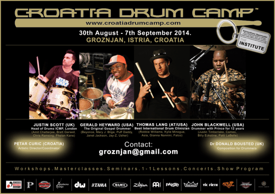 2014 Croatia International Drum Camp