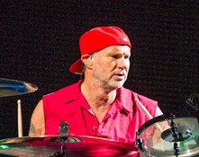 Drummer Chad Smith, Photo by Laura Glass