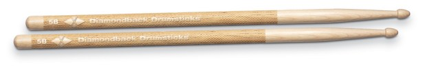 Diamondback Drumsticks Combine Laser-Engraved Handles With Premium-Grade Hickory Sticks