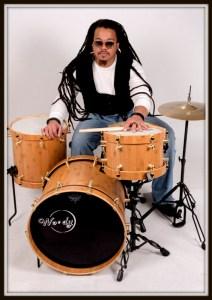 Drummer Deacon Washington of Ghostwork