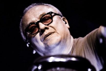 Percussionist Domingo Ortiz of Widespread Panic
