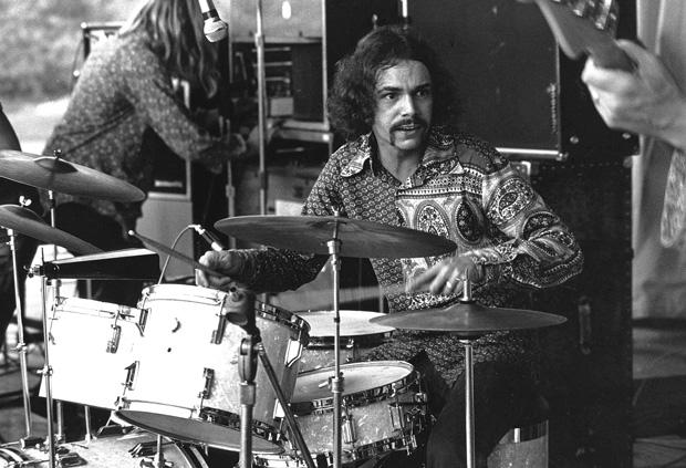 Drummer Danny Seraphine by Tom Copi