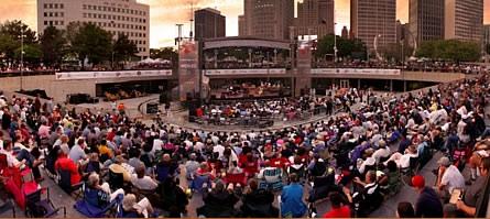 Detroit Jazz Festival Hart Plaza Modern Drummer
