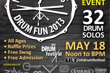 New England Drum Festival Drum Fun Event