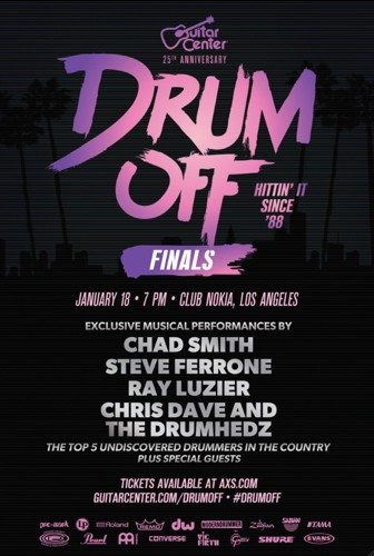 Drum-Off Finals Show Jan