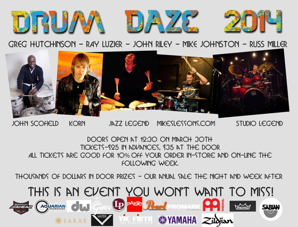 Drum daze2014 postcard backrev600