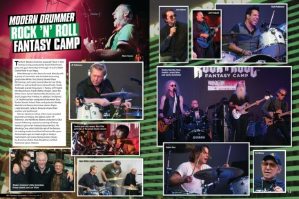 Modern Drummer Rock N Roll Fantasy Camp Trailer