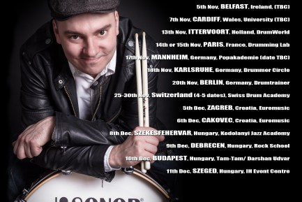 "Drummer Blog: Gabor ""Gabs"" Dornyei on Touring and Being True to Yourself"