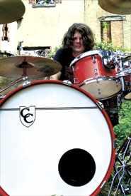 Drummer Chris Gartdrumm Gartmann