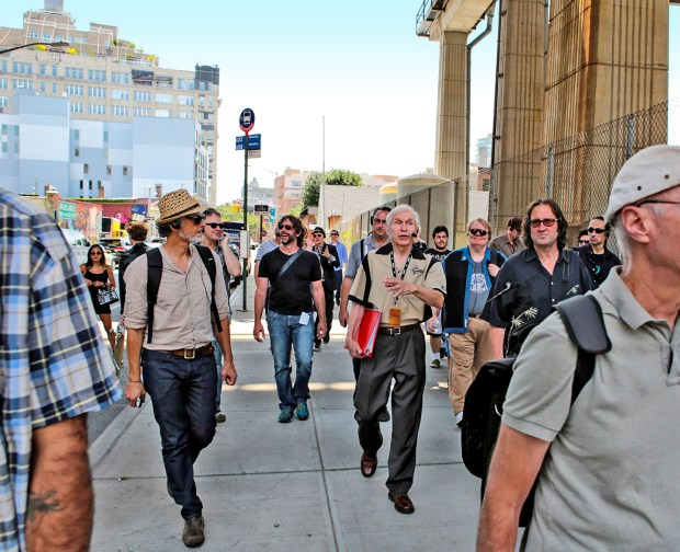 Fred Gretsch Leads Historic Gretsch Drums Walking Tour