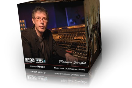 Platinum Samples Releases Henry Hirsch Manic Love Drum Sample Library for BFD