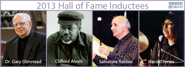 Percussive Arts Society Announces 2013 Hall of Fame Inductees