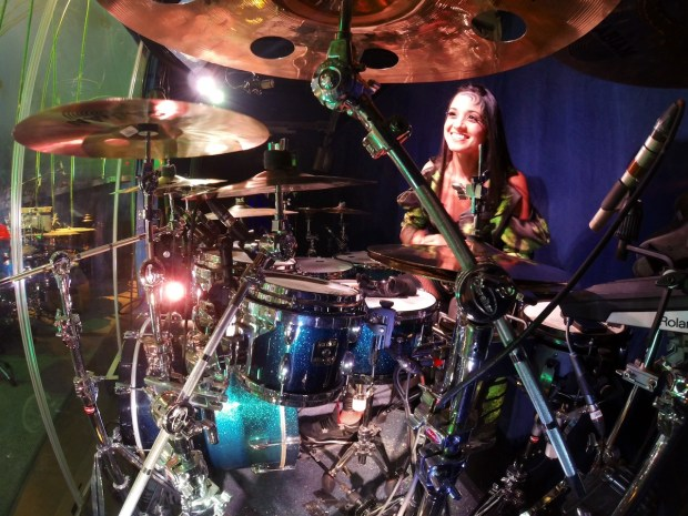 """Didi Negron Named Celebrity Spokesperson for the 2015 """"Hit Like A Girl"""" Drumming Contest"""