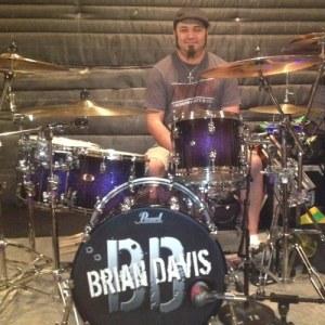 Drummer Jason Schmidt of Brian Davis