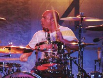 Led Zeppelin Drummer Jason Bonham Playing