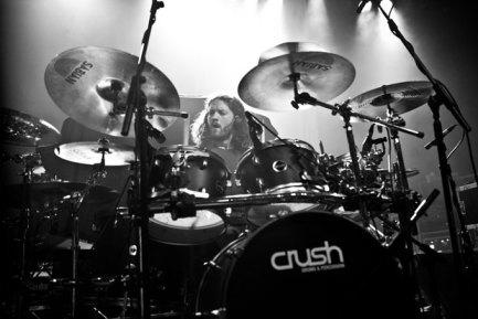 Drummer Jay Postones of TesseracT