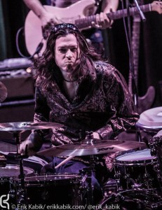 Drummer Jeff Tortora of Blue Man Group
