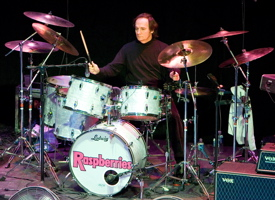 Drummer Jim Bonfanti of The Raspberries