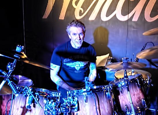 Drummer Jim Dudash of the Krypton Monkeys