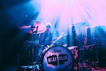 Drummer Joe Seiders of Beat Club - photo by Nicholas Karlin Photography
