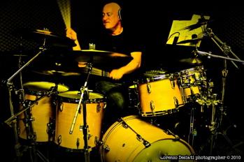 Drummer John Favicchia
