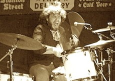 Drummer Josh Dion of Lady Clown