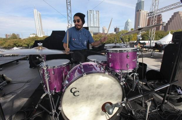 Justin Martinez of The Tontons,  Photo credit Mark C. Austin
