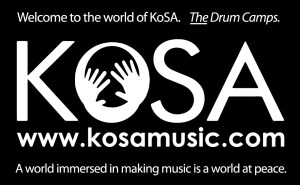 """19th Annual KoSA Drum and Percussion Camp Delivers Clear and Straightforward Sentiment: """"I Just Wanna Drum!"""""""