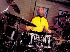 drummer Wilson Laurencin