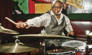 Jazz Drummer Lewis Nash playing