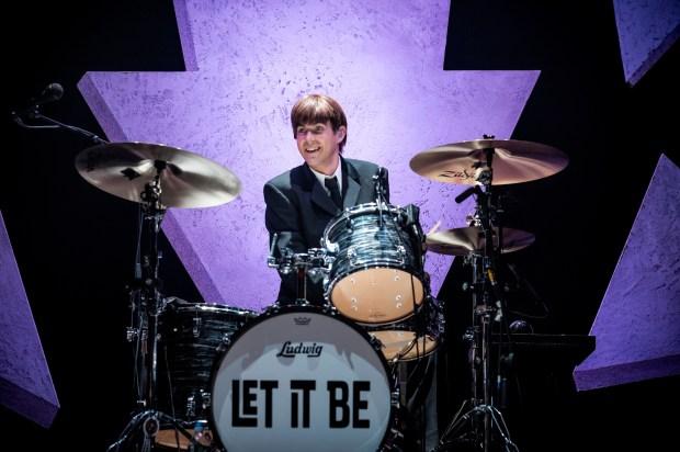 """Drummer Luke Roberts of """"Let It Be"""" Beatles Tribute"""