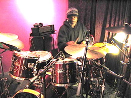 Drummer Robin Russell