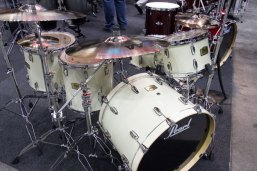 Pearl Drums at PASIC 2013