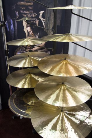 Cymbals at PASIC 2013