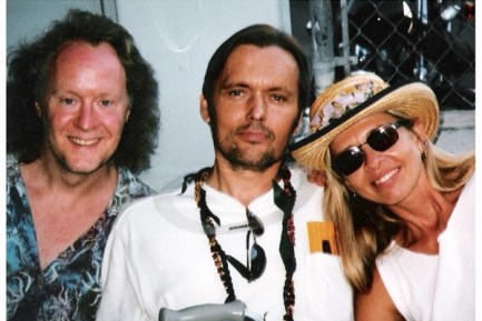 (L) Doane Perry, with Mark Craney and June Calhoun (R)