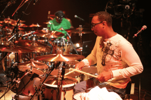 Marvin McQuitty Jr. at the 2006 Modern Drummer Festival