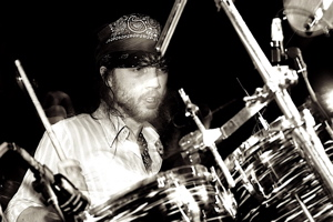Drummer Matt R. Johnson of The Mighty Orq