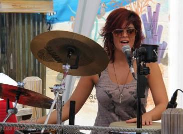 Percussionist Melanie Howe
