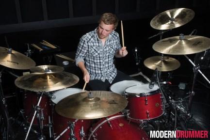 The Smashing Pumpkins' Drummer Mike Byrne