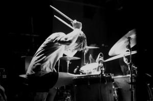 Drummer Mike Kennedy of the Wonder Years