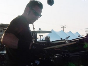 drummer/tech Mike Fasano